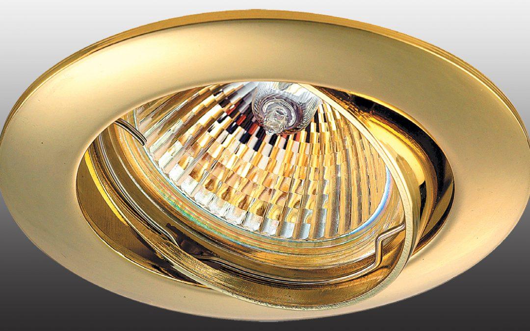 Встраиваемые светильники: виды и сферы применения
