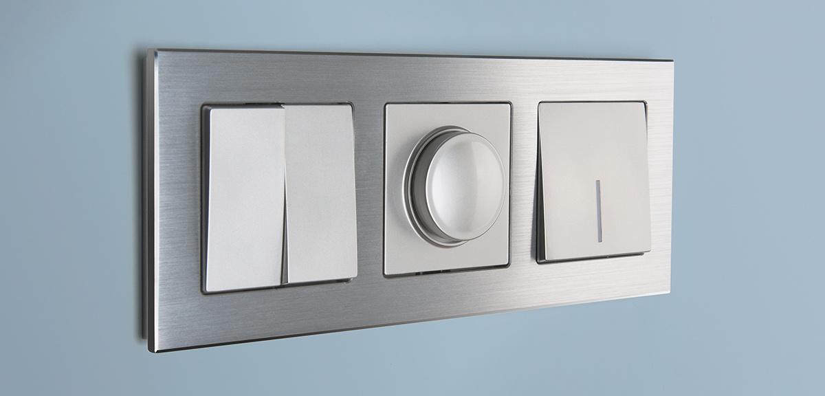 Серия рамок Aluminium