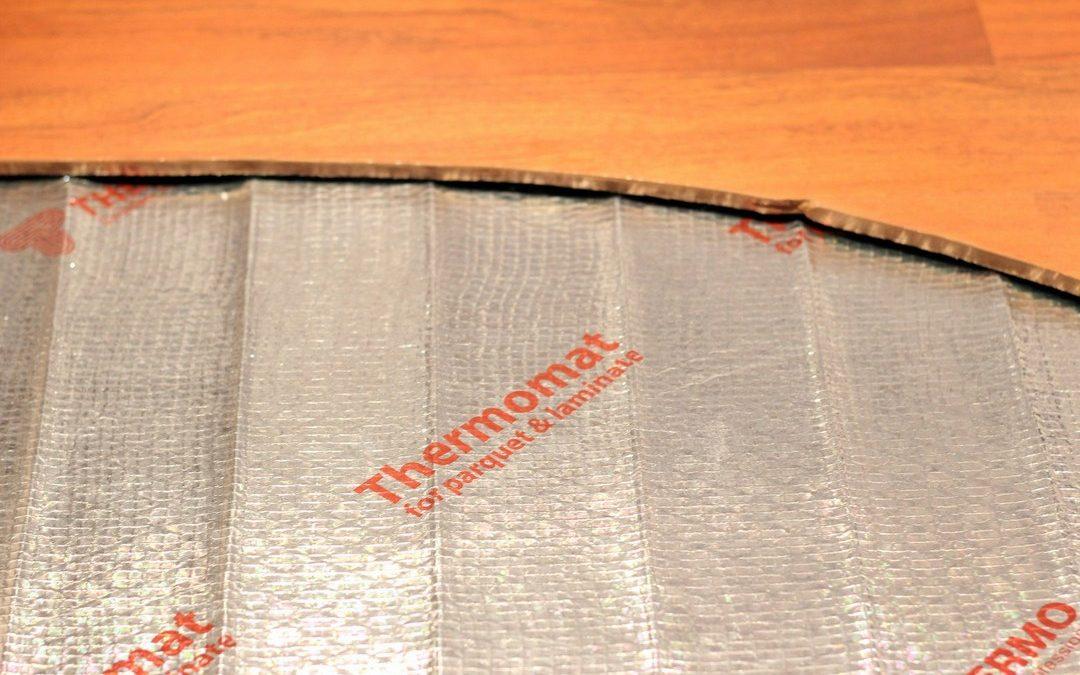 Теплый пол под ламинат и паркет Thermomat TVK-130 LP